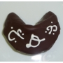Chocolate Fortune Cookies - Custom Letter (Single Initial)